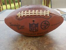 PITTSBURGH STEELERS 1974 Three Rivers Sold Team Facsimile Signed Football HOF