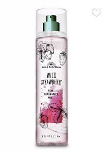 Bath and Body Works WILD STRAWBERRY Fine Fragrance Mist ~ 8 fl.oz.
