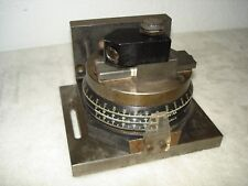 NEWBOULD INDEXER GRINDING WHEEL ANGLE DRESSER DEGREES MINUTES SECONDS WORKS EXC!