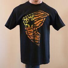 New! Men's Famous Stars and Stripes Logo T-shirt animal print black Size L $22