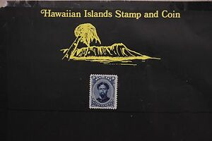 150 HAWAIIAN KINGDOM UNUSED 1890  SCOTT#52c L.H.