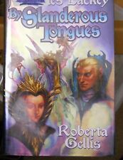 By Slanderous Tongues 3 by Roberta Gellis & Mercedes Lackey (2007-HC) ex-library