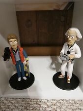 Lot of 2 Back to the Future Vinyl Idolz! Marty McFly and Emmet Brown!