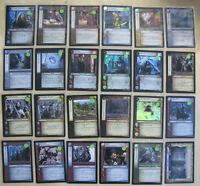 CCG BLACK TEST CARD LORD OF THE RINGS TCG