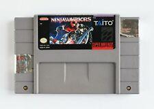 Ninja Warriors (Super Nintendo) SNES Game Cartridge GENUINE & ORIGINAL