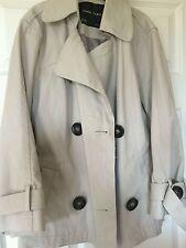 Zara trench coat cream
