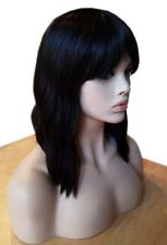 Forever Young Indie Waves HEAT SAFE Wig (Color: 2 - Brunette) Jewish Hair Cover