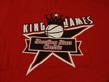 LeBRON JAMES Shooting Stars CLASSIC Basketball T Shirt FREE Shipping size Large