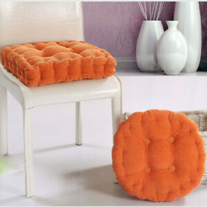 Thick Chair Cushion Pad Seat Set Useful Patio Outdoor Garden Dining Yard Mat New