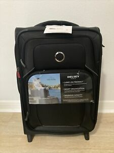 """Delsey OptiMax Lite 21"""" Expandable 2-Wheel Carry-On Suitcase"""