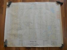 Old Vintage Map Obakamiga Lake Ontario Canada 1961 1969 Topographic Kapuskasing
