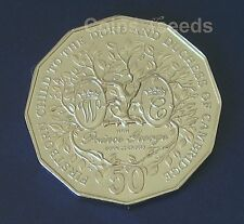 50c Coin, 2013 Firstborn Baby of Duke and Duchess of Cambridge Prince George