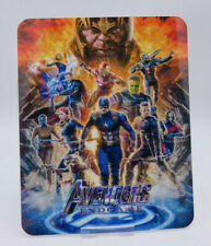 AVENGERS ENDGAME - Glossy Bluray Steelbook Magnet Cover (NOT LENTICULAR)