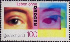 WEST GERMANY MNH STAMP DEUTSCHE BUNDESPOST MEDICINE ABUSE STRUGGLE 1996 SG 2737