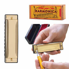 More details for kikkerland make your own harmonica - diy pocket instrument fun gift
