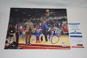 KEVIN HART, DWIGHT HOWARD SIGNED AUTOGRAPHED 11x14 PHOTO BAS COA D39889 all-star