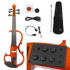 Yinfente 5 String 4/4 Electric Violin Silent Reverberation Bow Case Fiddle