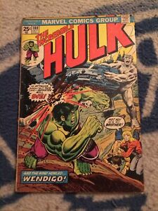 The Incredible Hulk #180 1st Wolverine Appearance Bronze Age Key [Marvel, 1974]