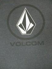 VOLCOM STONE CLASSIC DIAMOND LOGO - GRAY SOFT LARGE T-SHIRT F759