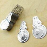 Silber Nadel Einfädler 50X Einfädler Nadel Nähnadel Tool 2019 X0C5