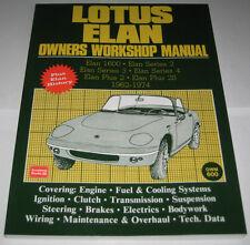 Reparaturanleitung Lotus Elan 1600 / S2 / S3 / S4 / Plus 2 / Plus 2S, 1962-1974