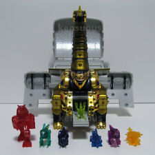Power Rangers Dino Thunder Brachio zord Brachio Megazord with 7 miniature Zords