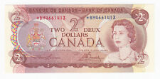 1974 Bank of Canada $2 Replacement Banknote - S/N: *BM4661413