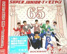 J-POP SUPER JUNIOR - T x MOEYARI ROCK & GO CD+DVD (2008) cd997