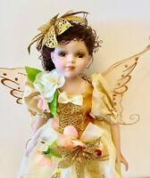 Fairy Porcelain Doll-Collectible Angel Porcelain Dolls-Limited Edition-New