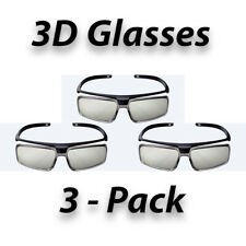3-Pack New Original Sony TDG-500P Passive 3D Glasses (TDG500P)