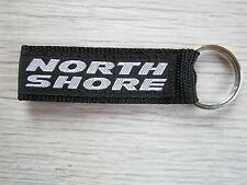 NEW genuine original authentic F2 Surf North Shore black key chain key ring
