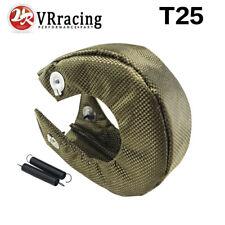 T25 TURBO/TURBOCHARGER TURBINE 100% TITANIUM HEAT-WRAP BLANKET HEAT SHIELD COVER
