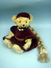"""Hermann 12 1/2"""" Rapuzel Bear Made In Germany 1998 - European Ltd. Ed. #92/500"""