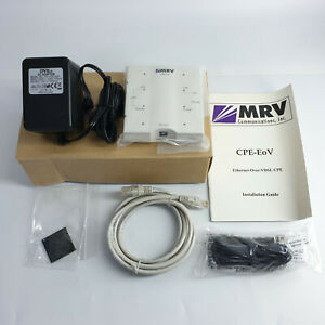 MRV CPE-EoV Ethernet Über VDSL Cpe Modem FCC Klasse B Cispr