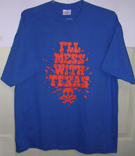 Boise State University Broncos Mens XL Blue Shirt Idaho BSU TCU or Bowl Game?