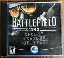 Battlefield 1942: Secret Weapons of WWII (PC, 2003) Expansion Pack with Key