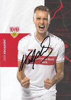 Sasa KALAJDZIC - Österreich, VfB Stuttgart 2020/21, Original-Autogramm!