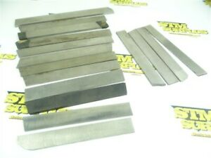 """LOT OF 16 ASSORTED CUT OFF BLADES 3/32"""" TO 3/16"""" WIDTHS VR/WESSON P&W NAMCO"""