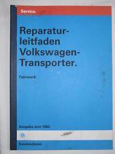 VW T3+Joker Reparaturhandbuch Werkstatthandbuch Achse+Feder+Bremse+Servolenkung