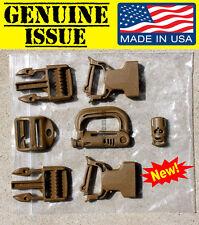 USMC FILBE MAIN Pack Buckle Repair Kit Rucksack Coyote ITW GRIMLOC Ladderloc gi