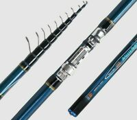 Telescopic Bolo Fishing Rod 4M 4.5M 5M 6M Carbon Trout Travel Spinning Floats