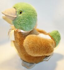 Plush Mallard Duck with baby duckling Hunting Toy Stuffed Animal Lodge Decor