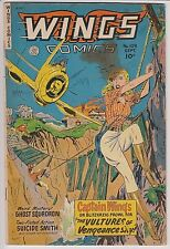 Wings Comics #109 G/VG 3.0