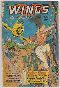 Wings Comics #109 G/VG 3.0