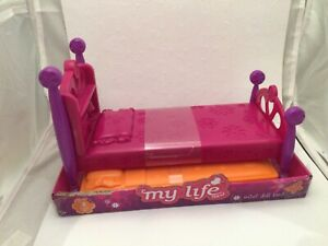 """MY LIFE AS MINI DOLL BED FOR 7"""" to 8"""" DOLLS NEW PLEASE READ"""