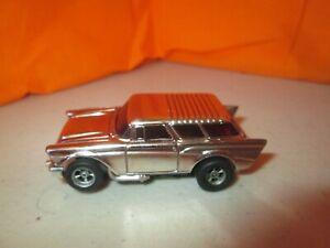 Vintage Aurora AFX '57 Nomad w/AFX Chassis HO Slot Car