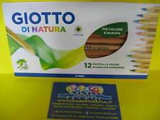 Matite colorate 12 colori giotto natura conf.1 scuola ufficio