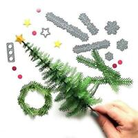 Snowflake Metal Cutting Dies Stencil Scrapbooking Embossing Craft DIY Card D9C6