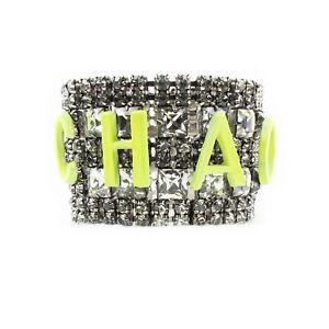 Tom Binns Neon Yellow Chaos Crystal Bracelet