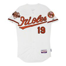 New listing 2014 Chris Davis Baltimore Orioles Authentic Home 60th Anniv Home Jersey 48 (XL)